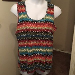 Maurices 3x stretchy sleeveless tank